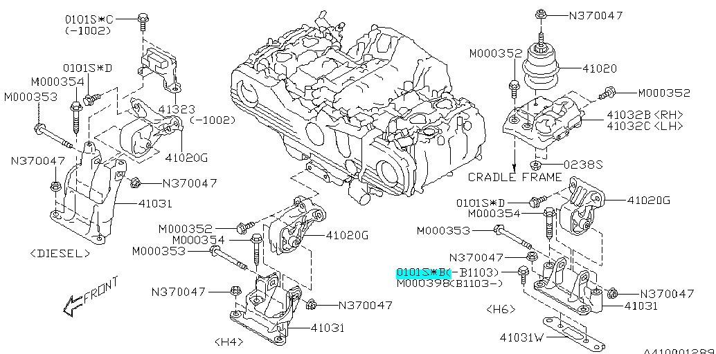 flange bolt pilot engine mounting subaru impreza (wrx/sti) 2002-2011,  forester 2003-2011, legacy 2005-2014, outback 2005-2019 - 010110200,  subaru1% - 4turbo  4turbo