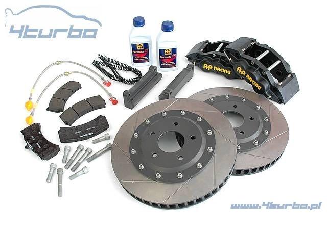 AP Racing brake kit BMW E92 M3, front, 6 piston, Ø368mm x 36mm, black  calipers - CP5555M1050BG G8