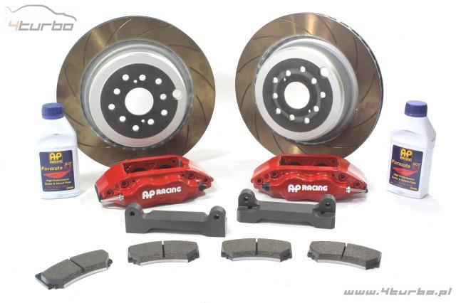 AP Racing brake kit BMW E92 M3, rear, 4 piston, Ø352 x 26mm, red calipers,  CP6602-1001R2 G8