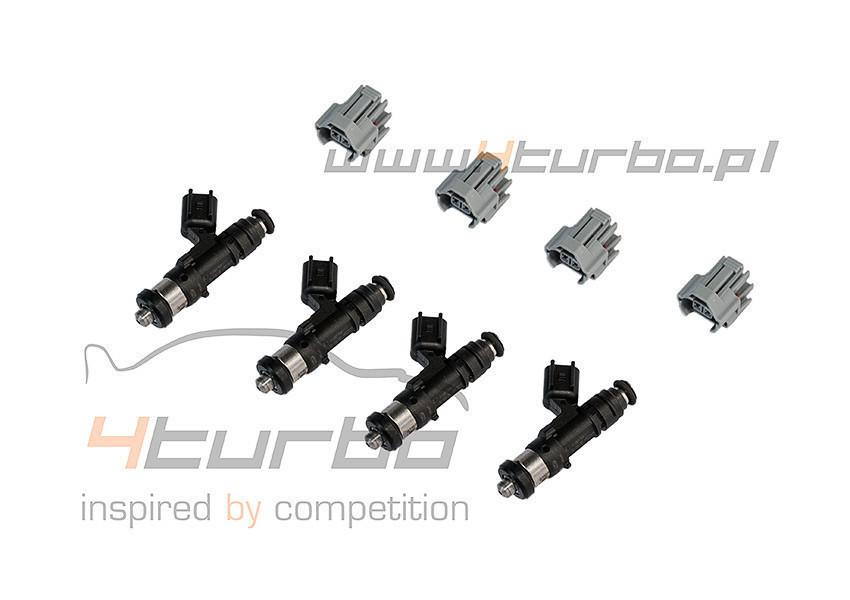 Injector Dynamics 1050cc/min high impedance fuel injector set of 4 EVO  5/6/7/8/9 - 1050 60 11 D 4