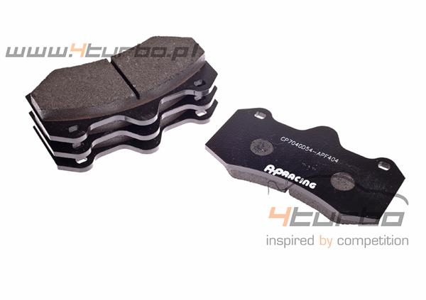 Brake pads front AP Racing 7040 compound 404