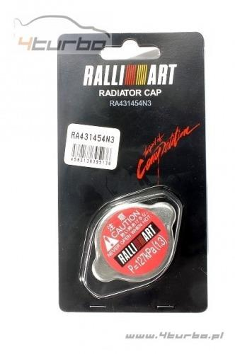 Radiator cap Ralliart (red) 1.3 bar EVO 7/8/9/10