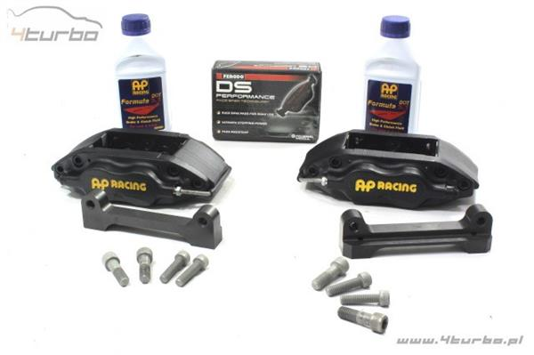 AP Racing brake kit EVO 10 Front, 6 Piston, Ø355 x 32mm, black calipers - CP7040M1014BK.CG12