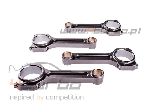 Forged connecting rod set I-beam Turbo Tuff Manley Performance for Impreza GT/WRX/STI EJ20/EJ25 up to 1000HP - 14416-4