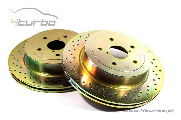 Brembo brake discs rear drilled STI 05- 5x114.3