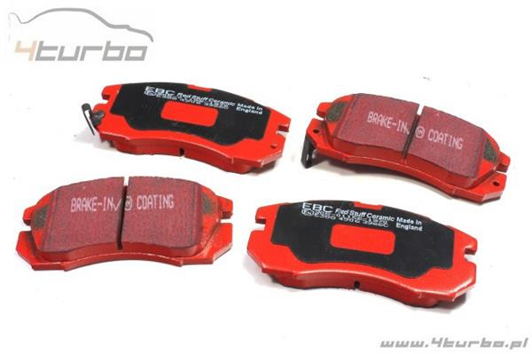 Brake pads EBC Red front Impreza GT 94-96, Forester