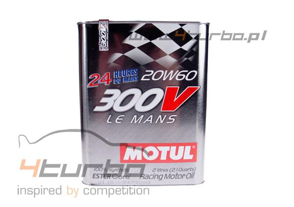 Racing motor oil Motul 300V 20W60 2 liters