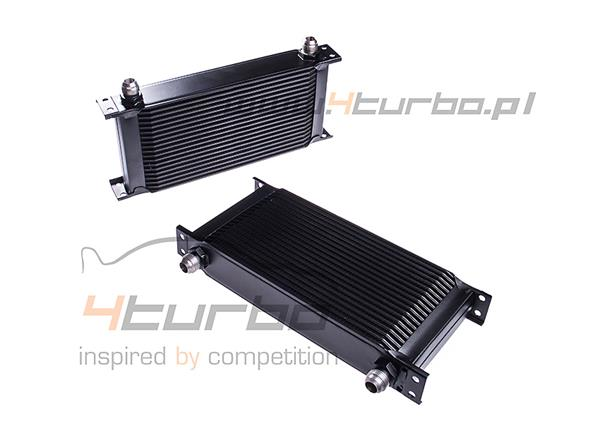 Mishimoto Mitsubishi Lancer Evolution X Oil Cooler Kit, 2008+, black - MMOC-EVO-08BK