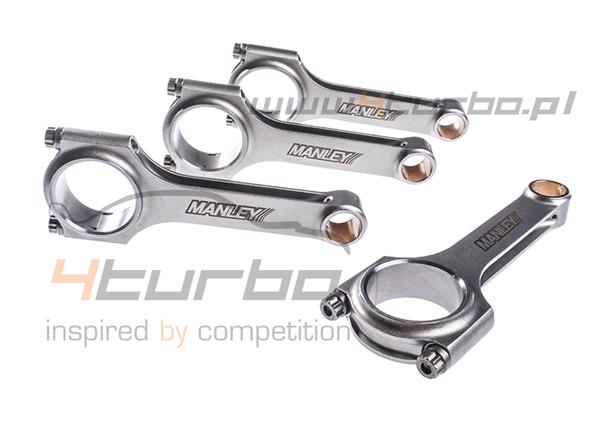 Forged connecting rod set H-beam Manley Performance for Lancer EVO 10 - 14029-4