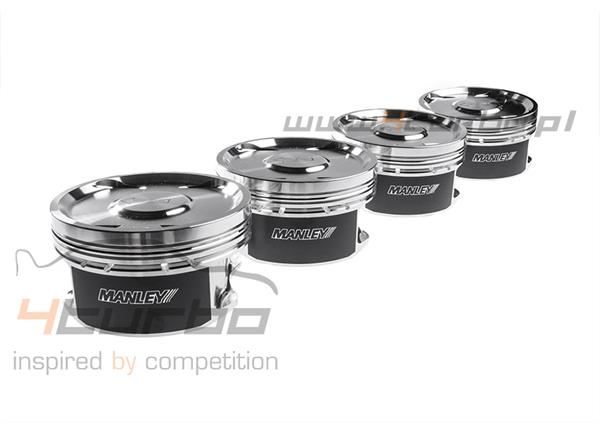 Manley Engine Piston Set Performance Standard (Stroker 2.3l) 86.00 mm 9.0:1 EVO 5/6/7/8/9 4G63 1998-2007 - 608010C-4