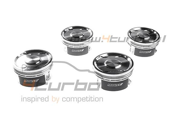 Manley Engine Piston Set Performance Standard (Stroker 2.3l) 85.00 mm 9.0:1 EVO 5/6/7/8/9 4G63 1998-2007 - 608000C-4