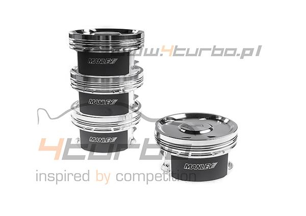 Manley Engine Piston Set Performance Standard 86.50 mm 9.0:1 EVO 5/6/7/8/9 4G63 1998-2007 - 606015C-4