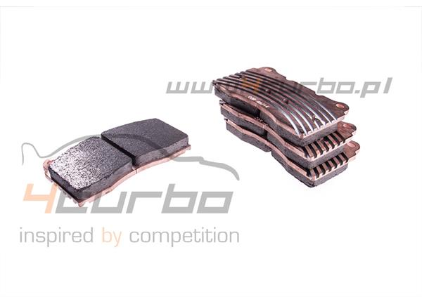 Carbone Lorraine RC8-R brake pads for Impreza STI 2001-2014, WRX STI 2014-2017, EVO 5/6/7/8/9/10/10MR - 4066T16RC8R