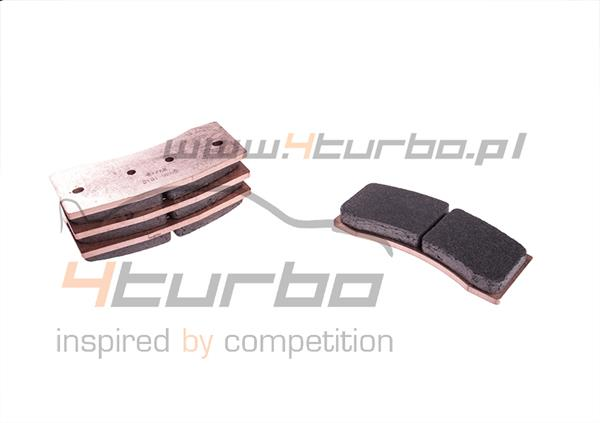 Carbone Lorraine front brake pads for Mitsubishi Lancer Evo 9 Brembo VO gravel - 5036W50T17,5RC6