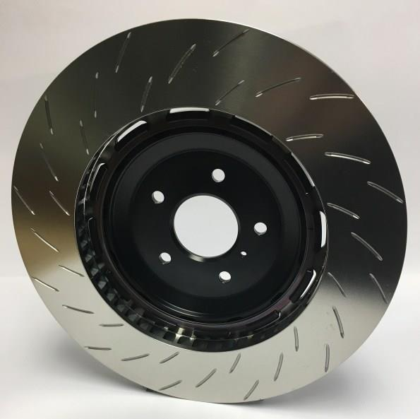 Performance Friction brake disc V3, front, slotted, left, 379mm Porsche 997 GT3 - 379.067.63