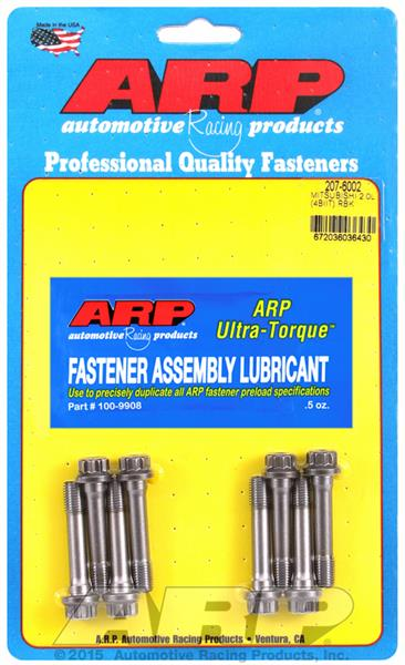 ARP Rod Bolt Kit Mitsubishi Lancer EVO 10 2.0L (4B11T) DOHC, 2008 & later, Kit #: 207-6002