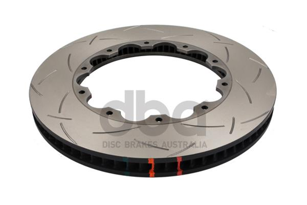 DBA rotor replacement 5000 series T3, front, slotted, left, 388mm Nissan GT-R 2011+, DBA52370.1LS