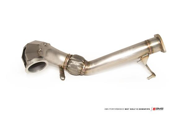 AMS Performance 2015+ VW MK7 Golf R Upgraded 3″ Downpipe, AMS.21.05.0001-1