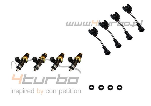 Injector Dynamics 1050cc/min high impedance fuel injector set of 4 EVO 10 - 1050.48.14.14B.4