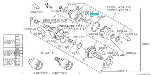 Engine Timing Chain Guide for 1999-2007 Subaru Forester